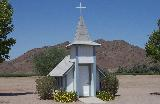 Miniature Church is tribute to wife! Yuma AZ