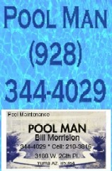 Swimming Poll Maintenance in Yuma Arizona